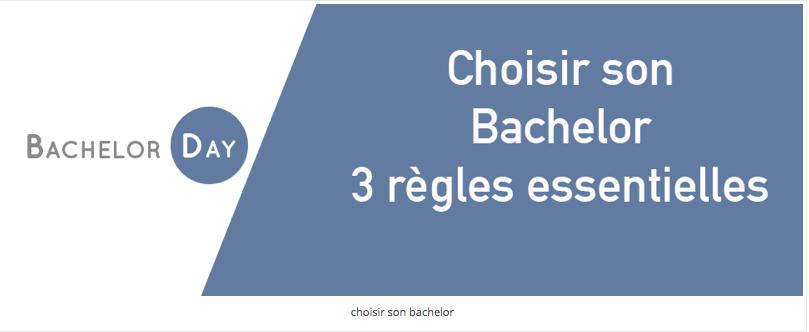 Les regle Bachelor